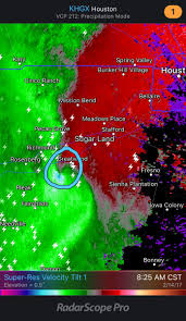 Florida Tornado Map by Possible Tornado Approaching Greatwood And Sugar Land Tx Usa