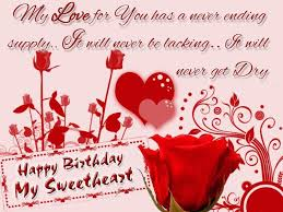 Sweet Lovely Quotes by Sweet And Lovely Birthday Wishes That Can Make Your Girlfriend