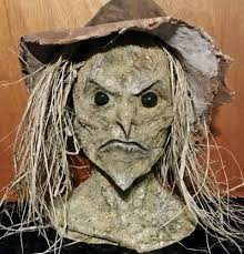 scarecrow halloween decorations life size evil scarecrow head u0026 hands halloween horror prop
