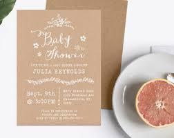 unique baby shower invitations unique baby shower invitations etsy
