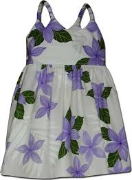 hawaiian dress princess plumeria clothing