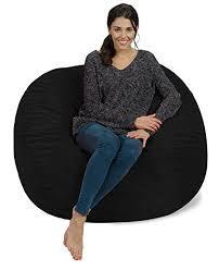 furry bean bag chairs u2013 best lounge furniture sevenhints