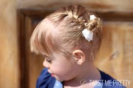 baby hair styles 1 years old styles for the wispy haired toddler twist me pretty