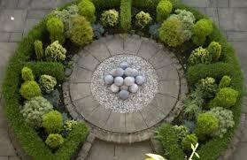 Formal Garden Design Ideas Formal Garden Design Ideas Evergreen Plant Balls Decoration