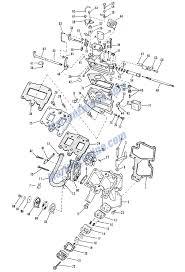evinrude carburetor group parts for 1965 9 5hp 9522 outboard motor
