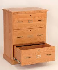 4 Drawer Wood File Cabinets For The Home by 3 Drawer Lateral File Cabinet Amish Hills Fine Handmade Furniture