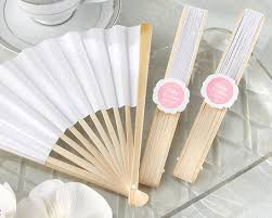 white paper fans white paper fan set of 12 available personalized