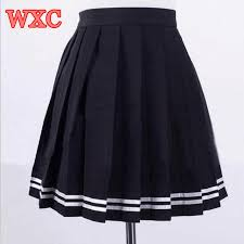 pleated skirts aliexpress buy japanese high waist pleated skirts anime