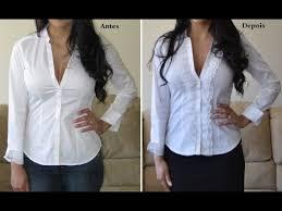 Preferidos Camisa customizada com renda by Customização & Cia - YouTube &TZ65