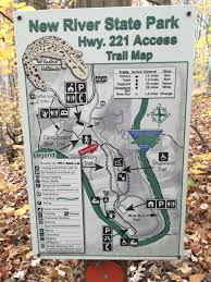 Nc State Parks Map by New River State Park Nc Map Popular River 2017