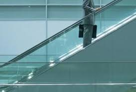 a obstacle for professional women glass escalator