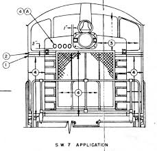 illinois railway museum diesel locomotive technical data emd sw7