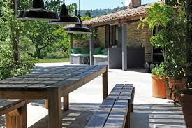 contemporary and charming stone house for sale in luberon rosier