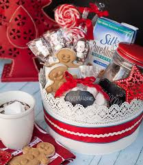 gift basket theme ideas delicious gift giving non dairy hot chocolate gift basket for the