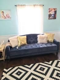 living room ls walmart 9 by novogratz vintage tufted sofa sleeper ii multiple colors