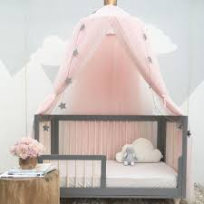 Circle Crib With Canopy by 240cm Mosquito Net Decoration Home Baby Bed Curtain Round Crib