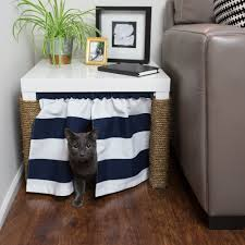 Elements Home Decor no place for a litter box create a kitty corner scratching post