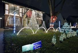 lights music action these kc area home christmas displays are