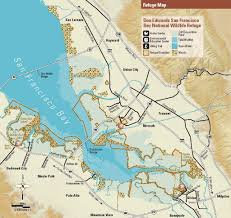 San Francisco Bay Map by Don Edwards San Francisco Bay National Wildlife Refuge Maplets