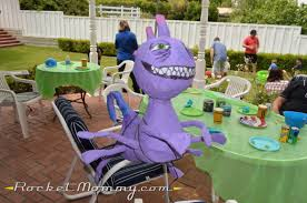 Monsters University Halloween Costume A Monsters Inc Monsters University Birthday Party Rocket Mommy