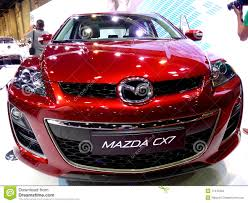 mazda cx7 mazda cx7 front end editorial photo image 17412356