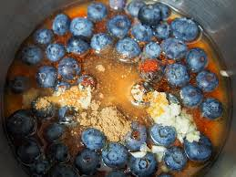 blueberry barbecue sauce for red white and blue chicken skewers