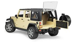 jeep wrangler unlimited rubicon model toy