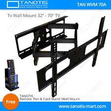 full motion corner tv wall mount tanotis imported swivel tilt heavy duty dual arm full motion tv wall m