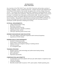 Hvac Technician Resume Examples by 100 Mechanic Resume Templates Resume Resume Outline