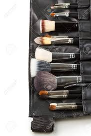 makeup artist belt makeup brushes in a makeup artist belt stock photo picture and