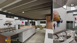 Kitchen Cad Design by Minosa 3d Rendering