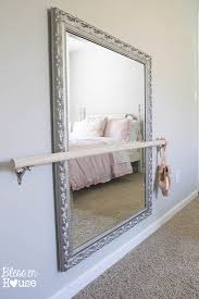 Floor Mirrors For Bedroom by Diy Ballet Barre And How To Hang A Heavy Mirror