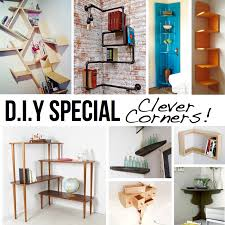 Creative Bookshelf Ideas Diy Clever Corner Diy Solutions