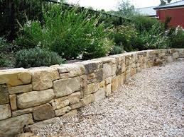 backyard stone retaining wall team galatea homes unique stone