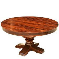 Expandable Round Dining Table For Sale by Custom Made Large Rustic Dining Tables
