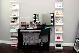 Free Standing Makeup Vanity Black Vanity Set With Lights Techethe What Is A Mud Room Bulk Food