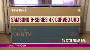 amazon tv deal black friday 55 inch samsung 6 series 4k 55