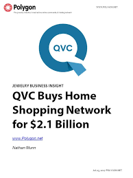 qvc buys home shopping network but is shopping peaking