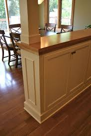 Dressing Up Kitchen Cabinets Best 20 Half Wall Kitchen Ideas On Pinterest U2014no Signup Required