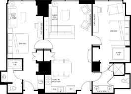 3 Bedroom Floor Plans Best 2 Bedroom Suite In Vegas Mattress