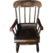 Antique Spindle Rocking Chair Antique Child Rocking Chair Inspirations Home U0026 Interior Design