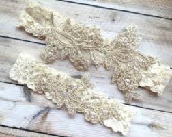 garters for wedding custom lace wedding garters and bridal by theraggeddiamond on etsy