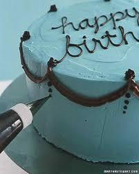 how to decorate a birthday cake martha stewart