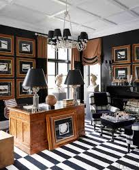 Ralph Lauren Interior Design Style The Lure Of Black And White Striped Interiors Empty Nest Remodelers