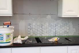 hexagon tile kitchen backsplash a backsplash bash bower power