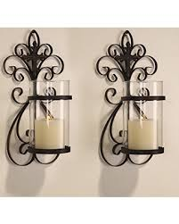 Wall Mounted Candle Sconce Innovative Ideas Wall Hanging Candle Holders Excellent Inspiration