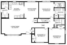 3 bed 2 bath floor plans professional building systems floor plans homes from gary s homes