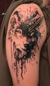 3d wolf sleeve design for sheideas