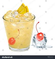 tom collins tom collins whiskey sour cocktail maraschino stock photo 358305188