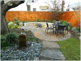 backyards enchanting rock backyard landscaping ideas simple